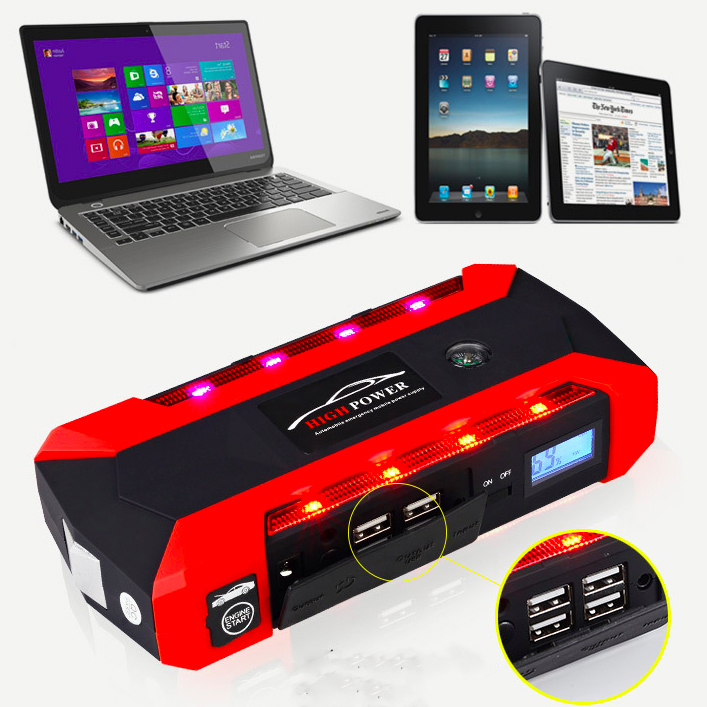 JX29A- factory best portable USB 15v 20000mah  battery jump starter