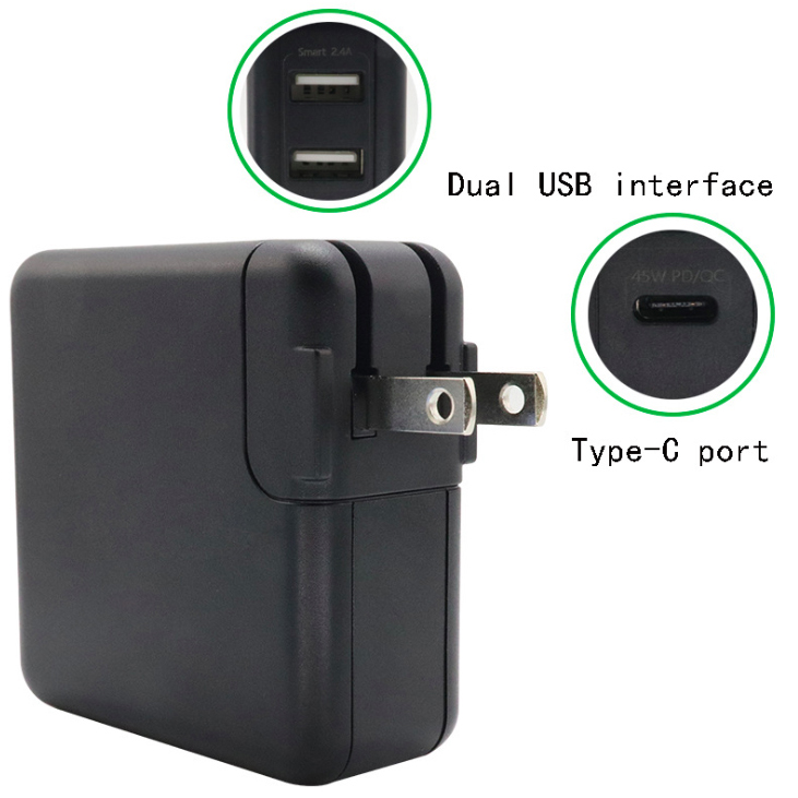 Eeon-PD60W2U-Quick charge 60w power bank for laptop
