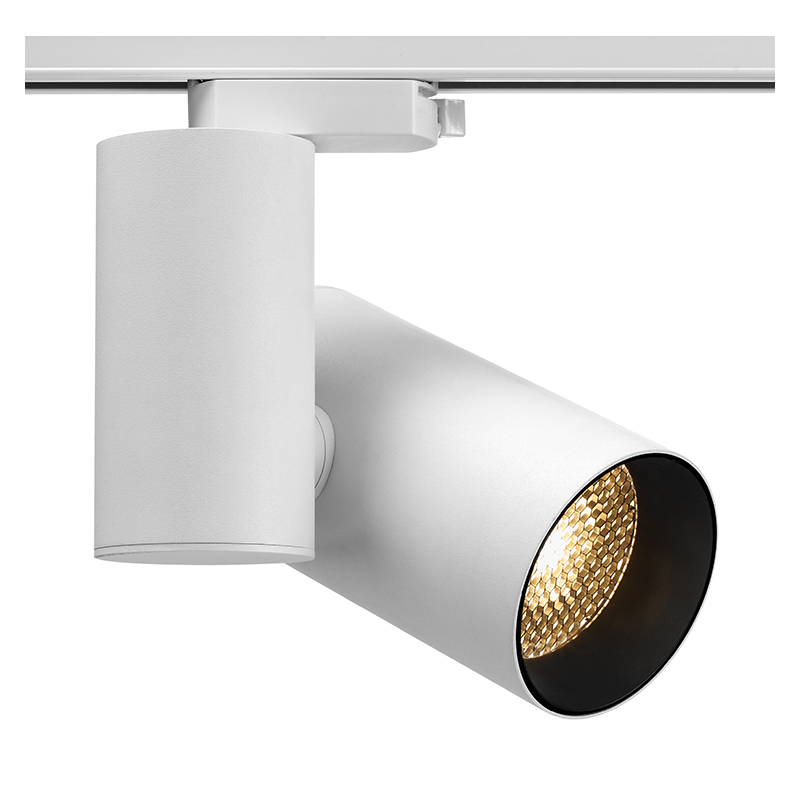 Built-in Driver Round Led Track Light AT10022