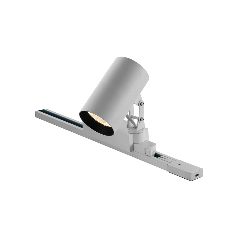 30W integrated driver adapter round led track light  AT10035
