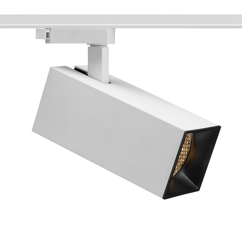 Built-in driver square led track light AT10050