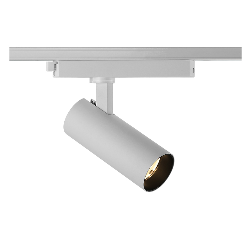 Integrated Driver Adapter Round Led Track Light  AT10840