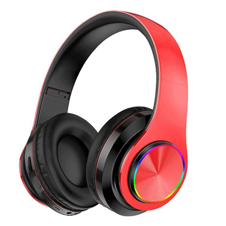 MB39 Wireless BT 5.0 Stereo Over-Ear Foldable Games Headphone Built-In Mic for