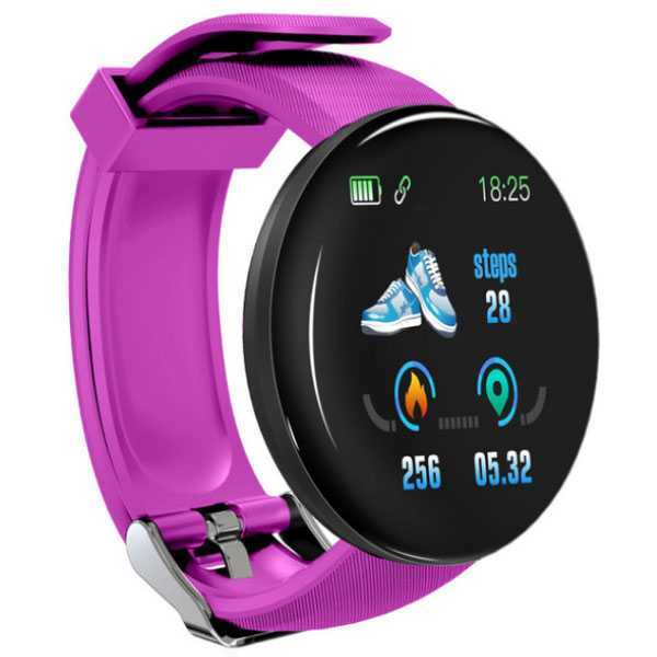 D18 Heart Rate Monitor Smart Watch