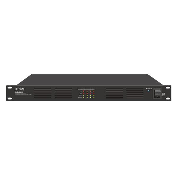 DA-4500 4 Channels 500W Digital Class-D Amplifier