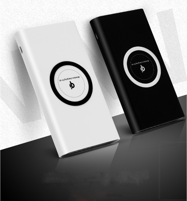 3in1 qi wireless charger power bank 10000mAh Portable Fast Charger For All Smart Phone