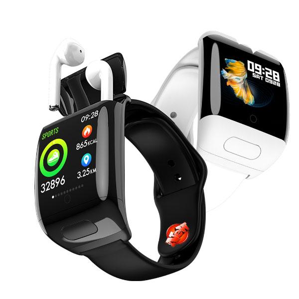 G36 2 in 1 Bluetooth Earphone Smart Watch