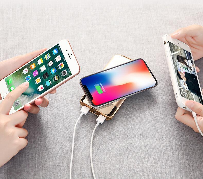 Portable Mobile Phone Wireless Charger Power Bank Powerbank 10000mah