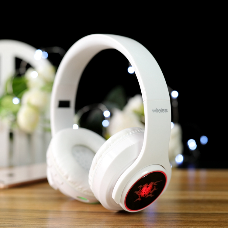 Wireless stereo  foldable flexible retractable handsfree music game video movie 5.0 headband headset