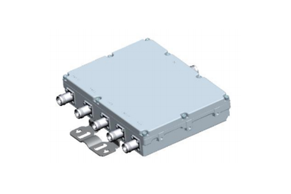 5 Ways Cavity Combiner 4.3/10-F Connector 694-2700MHz Low Insertion Loss Small Volume JX-CC5-694M2700M-4310F50