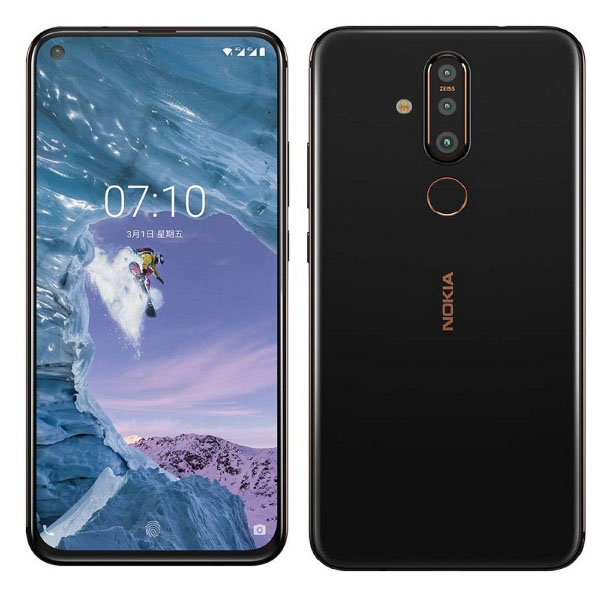 NOKIA X71 6.39 inches 3500 mAh Smart Phone