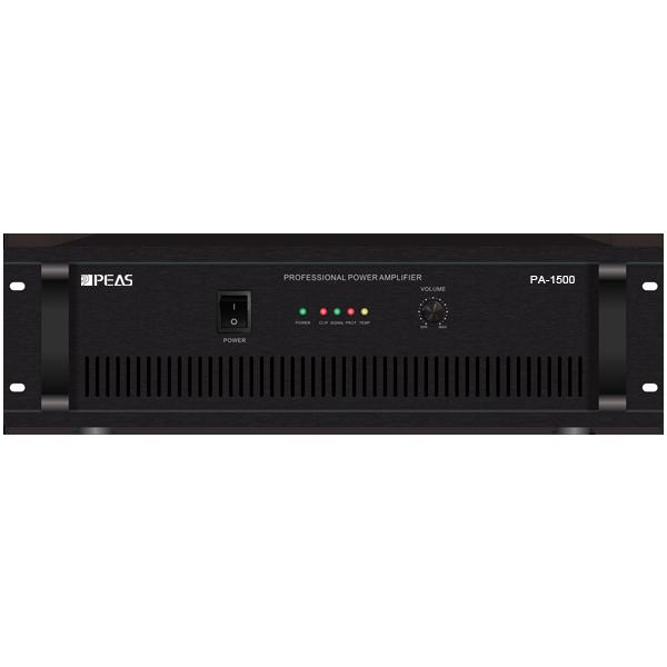 PA-1500 1500W POWER AMPLIFIER
