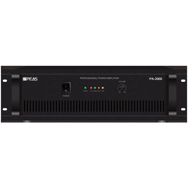 PA-2000 2000W POWER AMPLIFIER