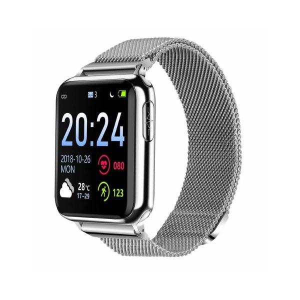 ECG PPG SPO2 Smartwatch Wristwatch with Electrocardiograph ECG Display