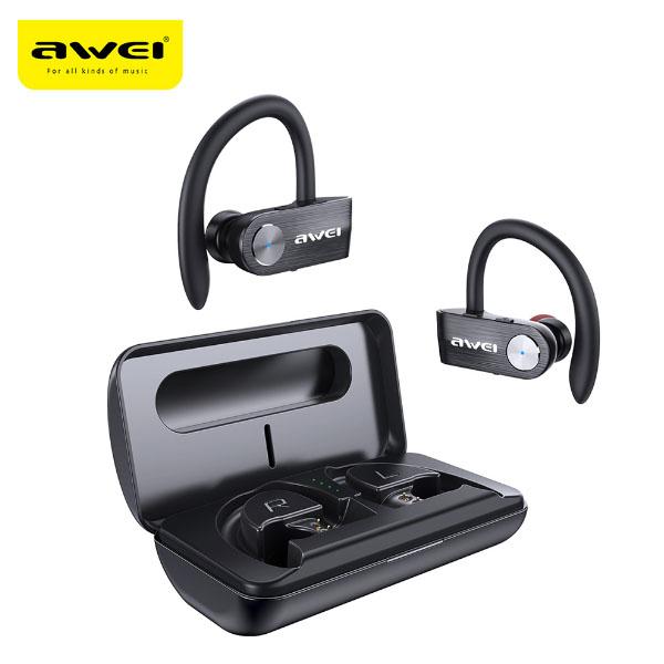 Awei T22 TWS Earbuds Wireless Earphones Bluetooth Headsets