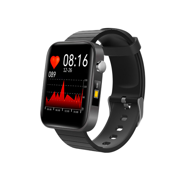 T68 Body Temperature Measure Smart Watch Wristband Bracelet