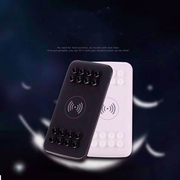 SUC01-portable suction power bank wireless fast charging power bank