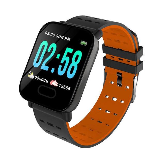 A6 Wristwatch Sports Fitness Smartwatch