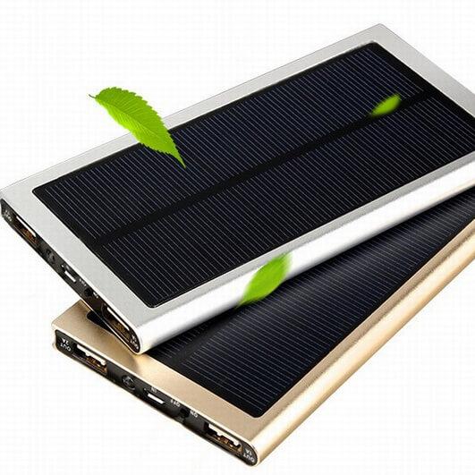 SP004-manufacture customize free logo solar power bank 10000mah