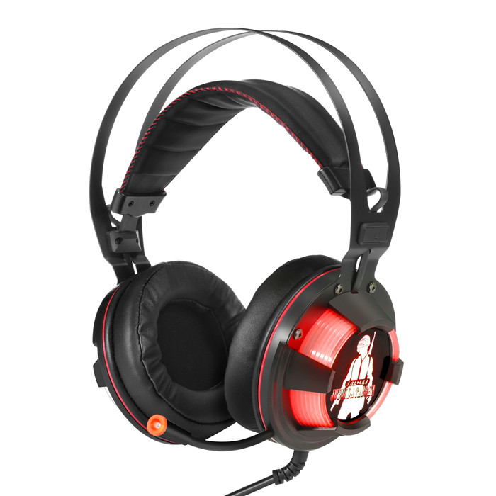 G70 Gaming Headset Noise Canceling Gaming Headphones With Mic & LED Light Compatible With PS4, Xbox One, Nintendo Switch, PC