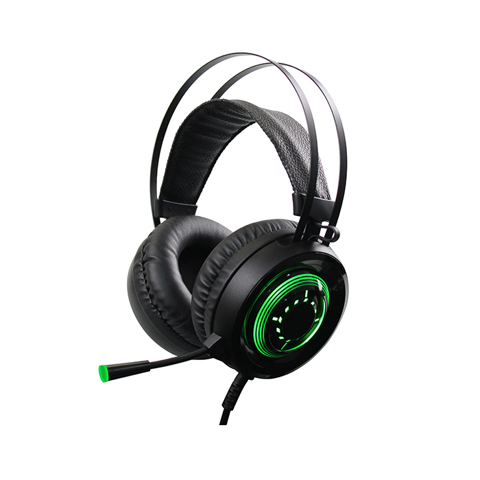 G80 Gaming Headset Xbox One Headset PS4 Headset Noise Cancelling Mic & LED Light, Compatible with Xbox One (Adapter Not Included) PS4 PC Laptop