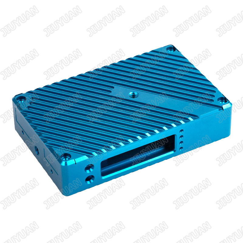 Colored Aluminum CNC machining part for monitor frame