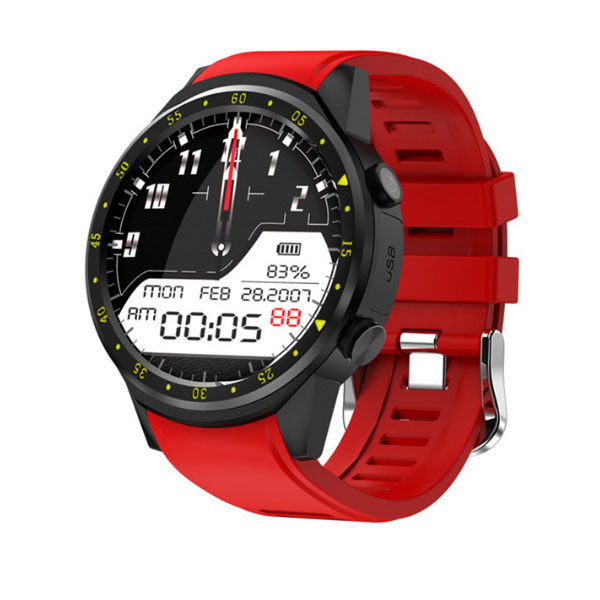 F1 smartwatch with heart rate monitor