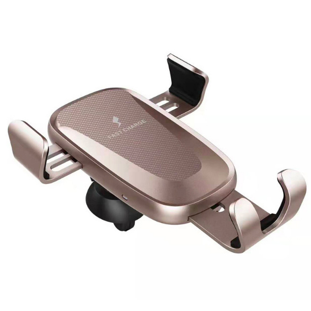 WC01-gravity wireless  fast charging car charger