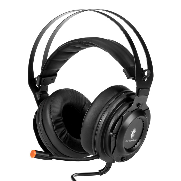 G30 Gaming Headset for PS4, Xbox One, PC, Nintendo Switch, Over-Ear Noise Cancelling Headphones with Soft Memory Earmuffs, 7.1 Surround Sound, Volume/Mic Control, LED Light for Laptop Mac