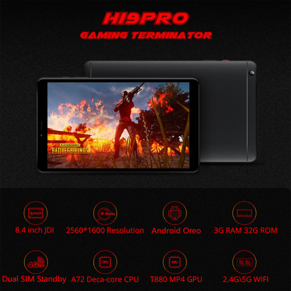 CHUWI HI9 PRO 4G LTE Phone Call Tablet PC Featured Image