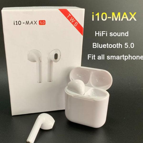I10 MAX TWS Bluetooth earphones