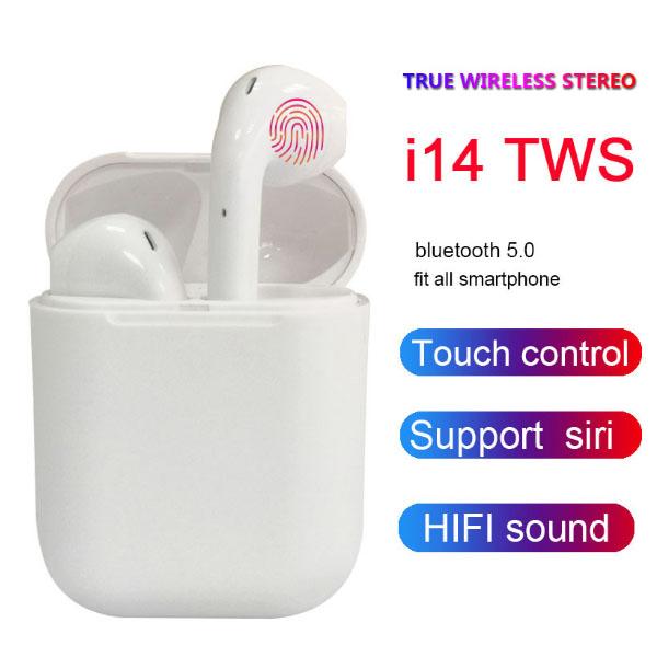 TWS I14 earbuds