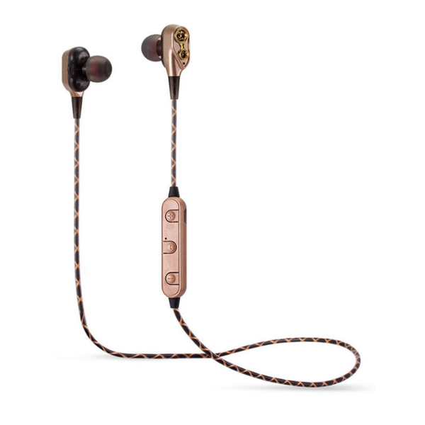 Bluetooth Earphone M18 Dual Speakers HIFI Earphone