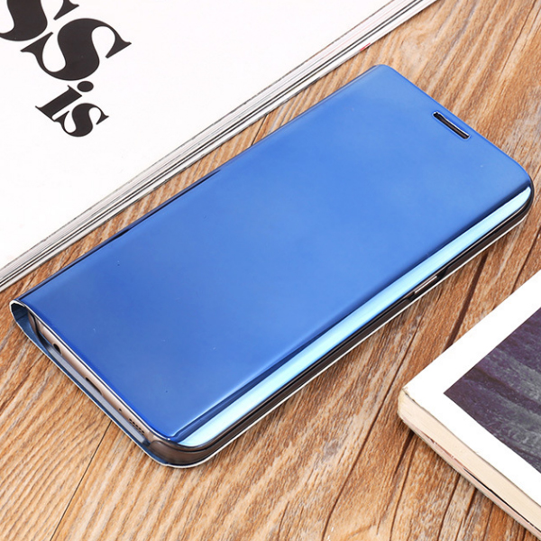 Luxury Plating Smart Mirror Cases for Samsung Galaxy S9+ S8+ Smartphones