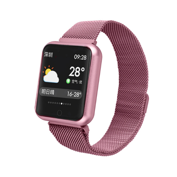 P68 Wristwatch Sports Fitness Smartwatch