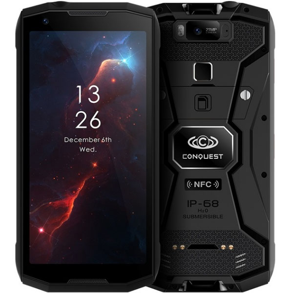 Conquest S12 Pro IP68 Waterproof Rugged Smartphone
