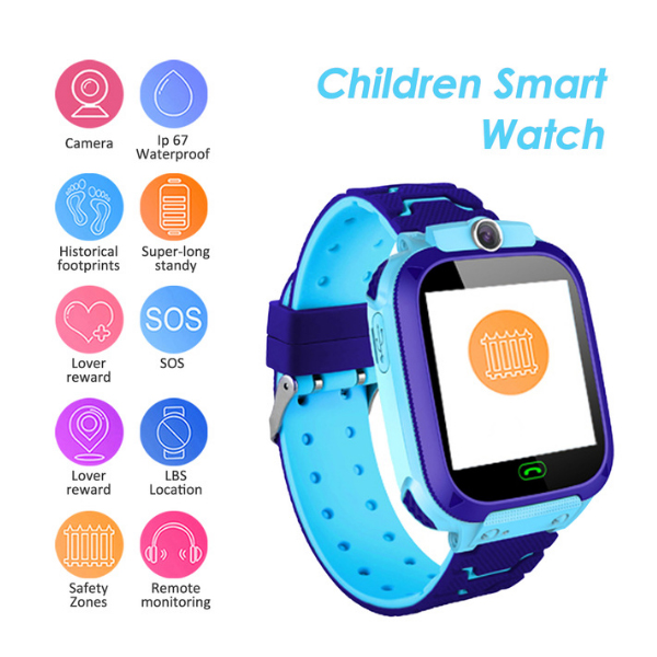 S12B 2G SIM Card kids Smartwatch