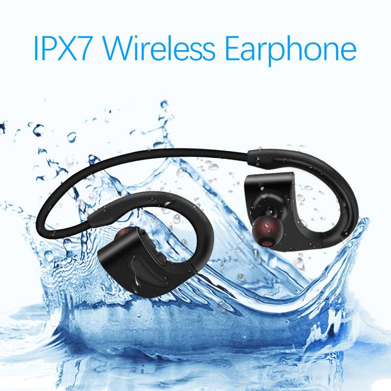 IPX7 waterproof sport wireless earphone