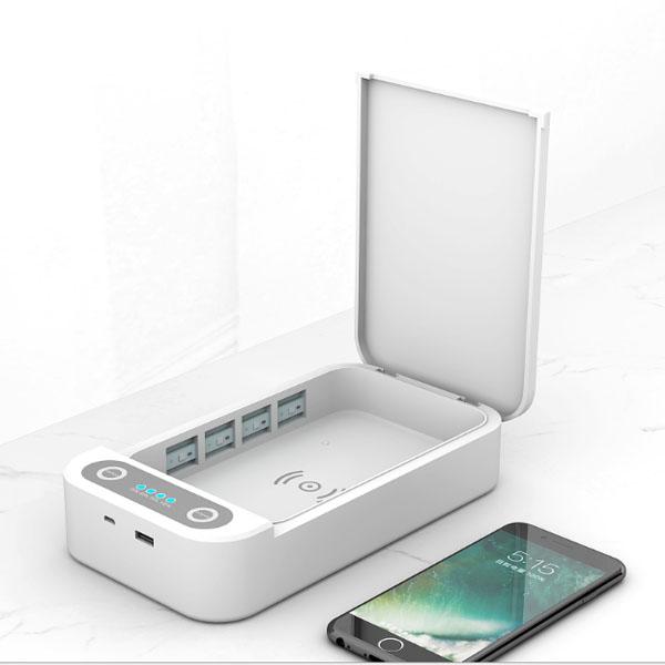 UV sterilizer multifunctional mobile phone sterilization box Featured Image