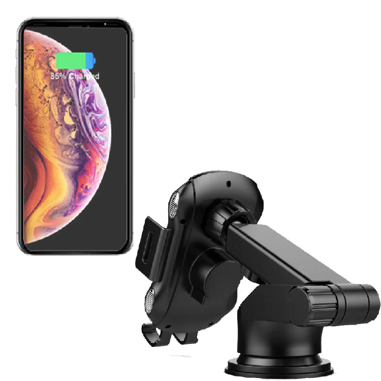 wholesale portable car  mount  automatic wireless charger 10w fast charger car holder