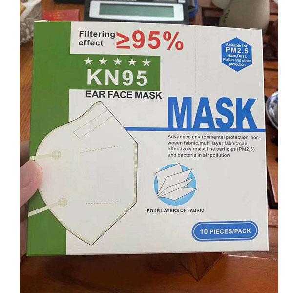 CE FFP2 KN95 Protective Face Mask CAI