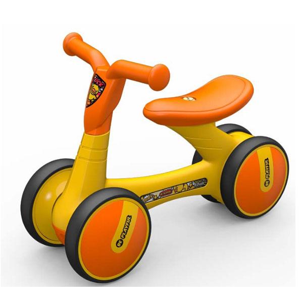 Baby balance bike twist slide bike