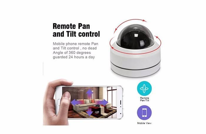 2.5' MINI Dome PTZ Camera