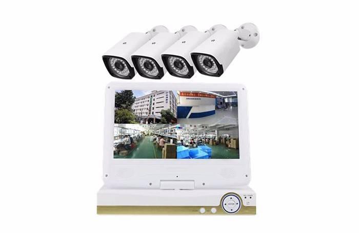 4CH LCD Monitor AHD DVR KIT