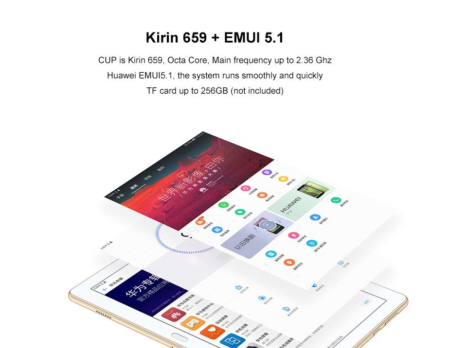 Huawei Waterproof IP67 Waterplay Tablet PC WiFi Netbook Ebook 6600mAh