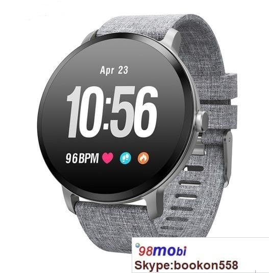 V11 Smart Watch IP67 Waterproof Fitness Tracker Heart Rate Monitor