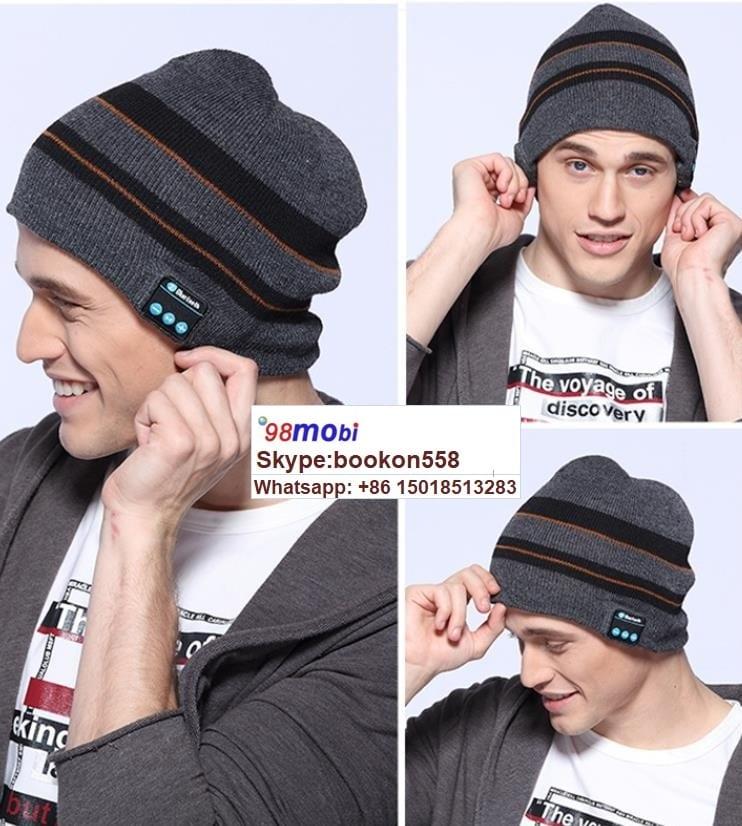 Outdoor Sport Wireless Bluetooth Earphone Stereo Magic Music Smart Hat
