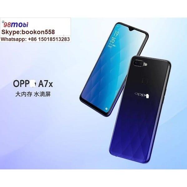 "OPP0 A7X 4G+ Smart Phone 6.3"" Smartphone Moviles Cellphone Celulares"