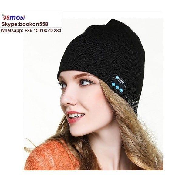 Wireless Bluetooth Earphone Smart Headset Headphone Sport Stereo Music Hat