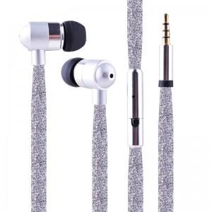Factory Cheap Hot I7 Wireless Music Earphone - Glitter Shoelace Earphone – Xinliang